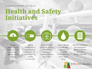 Encore Electric Healthy Business Leader graphic